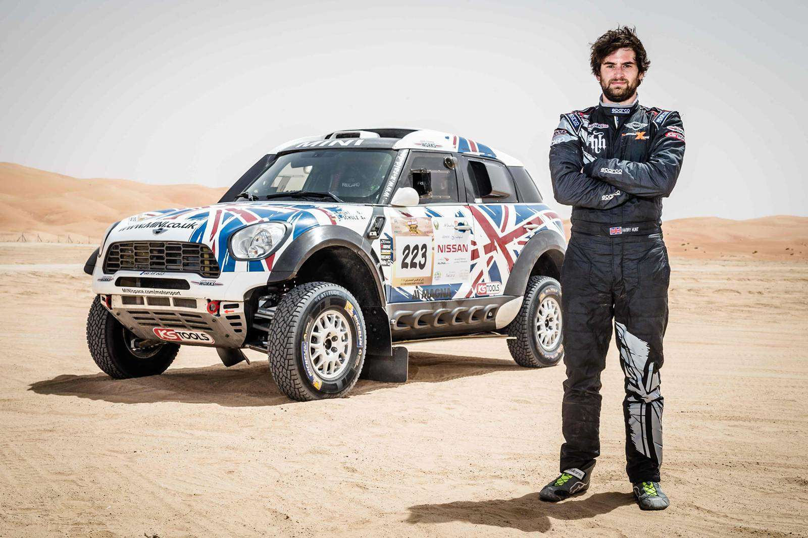 Harry Hunt Dakar Rally